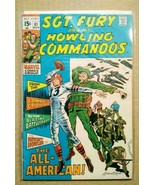 Sgt. Fury and his Howling Commandos #81 (1963 Series) Bronze Age Comic book! - $5.59