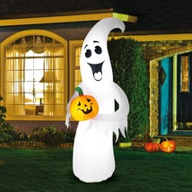 7ft Gemmy Halloween Airblown Inflatable Outdoor Yard Decor Holiday Pumpk... - $53.45