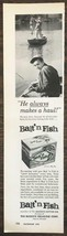 1959 Bait 'n Fish Pre-Bait Print Ad Triple Your Catch Buckeye Cellulose ... - $6.71