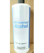 99% Isopropyl Alcohol Beauty Home Multi Use HUGE 32oz Bottle BRAND NEW I... - $25.00