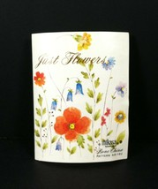 Brochure Mikasa Bone China Just Flowers A4-182 Illustrations Descriptions - $9.89