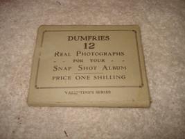 12 ANTIQUE DUMFRIES REAL PHOTOGRAPHS ENGLAND VALENTINES SERIES VINTAGE 1... - $149.99