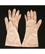 Vintage Pink Nylon Gloves, Size 6 - $14.99