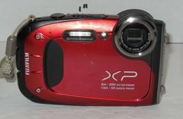 Fujifilm FinePix XP Series XP60 16.4MP Digital Camera - Red - $93.50