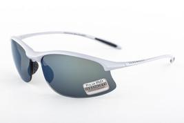 Serengeti Maestrale Metallic Silver / 555 Polarized Blue Mirror Sunglasses 8123 - $195.02