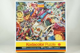 """RoseArt Kodacolar Jigsaw Puzzle - """"SEW WHAT"""" 1000 Pc, Embroidery Needlepoint - $18.87"""