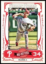 2013 Topps Gypsy Queen No Hitters #NH-KM Kevin Millwood NM-MT Phillies - $1.25
