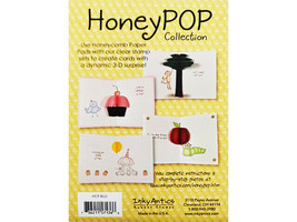 Inky Antics Goldenrod Honeycomb Paper Pad #HCP-GLD image 2