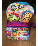 Shopkins Backpack With Shopkins Launch Box Kooky Cookie Apple Blossom - $20.79