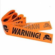 BinaryABC Halloween Caution Tapes, Halloween Warning Tape, Halloween Par... - $9.16