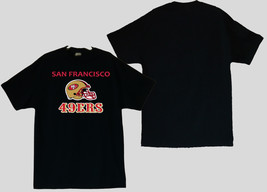 San Francisco 49ers With Helmet  Men's T-Shirts (S / M / L / XL) 2XL/3XL - $20.78+