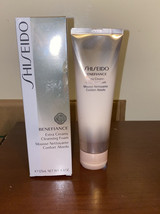 Shiseido Benefiance Extra Creamy Cleansing Foam - 4.4oz - NIB, GOLD SEAL - $38.34