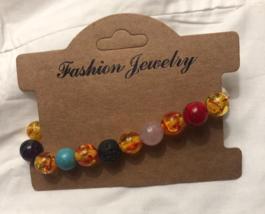 Multi-Bead Melange Strand Bracelet Of Asia - $15.00