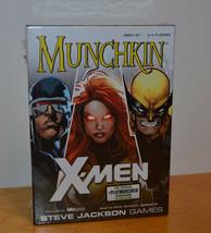 MUNCHKIN X-MEN ADVENTURE CARD GAME MISB SEALED STEVE JACKSON GAMES RPG M... - $11.63