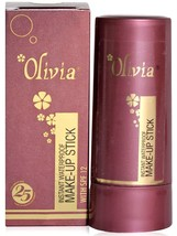 Olivia Instant Waterproof MAKE-UP STICK With SPF 12 Net Weight - 15 Gram - $7.28