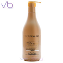 L'OREAL Professionnel Serie Expert Absolut Repair Lipidium Shampoo, 500ml Pump - $25.00