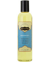 KAMA SUTRA AROMATIC MASSAGE OIL - SERENITY 8 oz. - $15.34