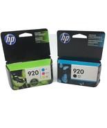 HP 920 Black Inkjet Cartridge & HP 920 Cyan Magenta Yellow Cartridge - $32.71