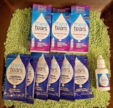 LOT OF Thera Tears Dry Eye Therapy Eye Drops 3 X 15ml, 24 NIGHTTIME VIAL... - $26.72