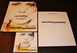 2003 BEYOND BORDERS Movie PRESS KIT Folder CD PR Notes Clive Owen ANGELI... - $22.24