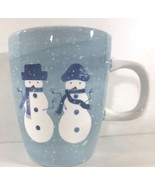 """Winter Frost"" Snowman Holiday Hand Painted Dinnerware Collection By Home - $7.91+"
