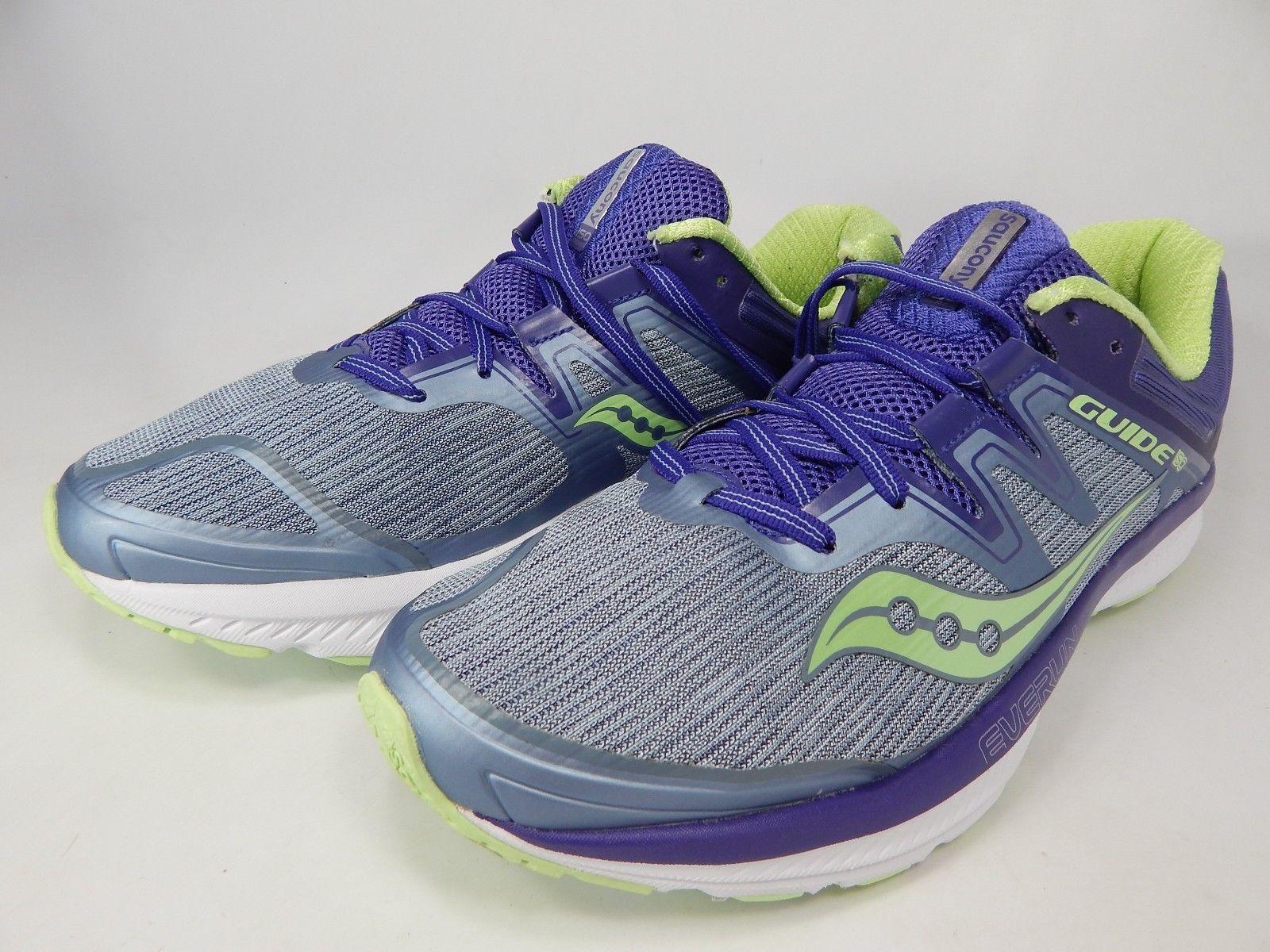 Saucony Guide ISO Size 11 M (B) EU 43 Women's Running Shoes Purple Gray S10415-1