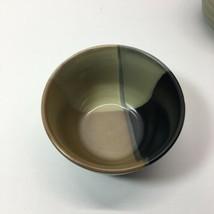 "SANGO GOLD DUST BLACK SET OF 3 INDIVIDUAL ICE CREAM BOWLS 5 3/8"" X 3 1/4... - $19.80"