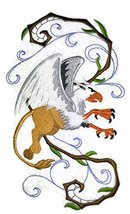 Custom Legendary Mythical Unique Dragon [ Griffin In Fantasy Flight] Emb... - $14.84