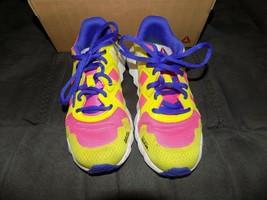 Reebok Exocage Athletic Running Shoes Ortholite AR1667 Size 2.5 Girl's EUC - $39.60