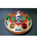 MASUDAYA UFO Galactic Disk X-7 Made in Japan Vintage Flying Saucer - $316.03