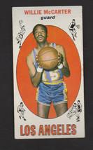1969 Topps Basketball #63 Willie McCarter Los Angeles - $8.06