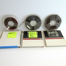 Used Pre-Recorded Reel to Reel Recording Tapes untested various brands - $12.60