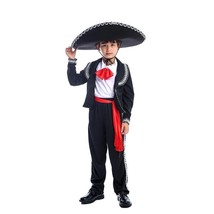 Mexican Mariachi Amigo Dancer Child Boys Coco Movie Halloween Festival Costume - $11.99+