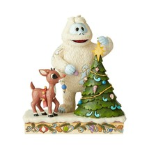 Rudolph Traditions Rudolph with Bumble and Tree Figurine by Jim Shore 6004145 - $64.30