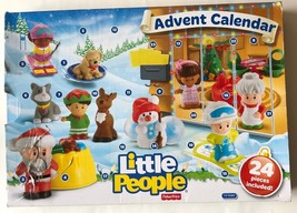 Fisher Price Little People Christmas Advent Calendar 24 pieces Toy Colle... - $45.80