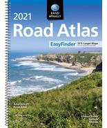2021 EasyFinder Midsize Road Atlas Rand McNally Road Atlas NEW - $13.51