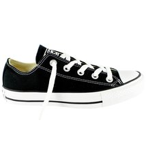Converse Unisex Chuck Taylor All Star Ox Low Top Black Sneakers - 11.5 B... - $48.50