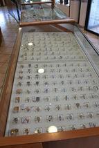 18K WHITE GOLD MINI ROUND EARRINGS DIAMOND DIAMONDS 0.06 CT, MADE IN ITALY image 7