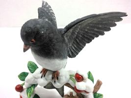 THE LENOX GARDEN BIRD COLLECTION Dark-Eyed Junco (Fine Porcelain 1991) image 8