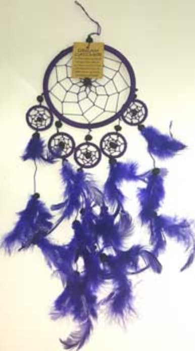 "Primary image for 5"" Purple dream catcher"
