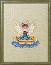 """LOTUS NC267"" with Complete Materials  by NORA CORBETT with Linen or Aida - $49.49"