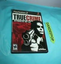 True Crime: Streets of L.A. (Sony PlayStation 2, 2003) - $8.90
