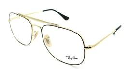 Ray-Ban Rx Eyeglasses Frames RB 6389 2970 55-16-145 The General Black / Gold - $137.20