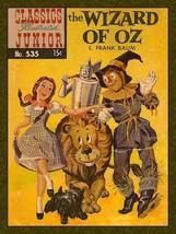 Classic Junior Magazine Cover Wizard of Oz, WOZ Humor Metal Sign - $29.95