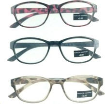 4b170829e2df Marilyn Monroe +2.00 3 Pack Readers Multi-Color Designer Reading Glasses -   22.79