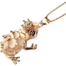 PANDA SUPERSTORE Spittor Car Pendant Crystal Car Pendant(Beige)