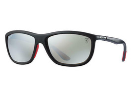 Ray Ban RB8351M F602H3 60 Ferrari Collection Sunglasses Black, Polarized... - $282.15