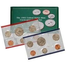 1993 P & D US Mint Set United States Original Government Packaging Box C... - £7.24 GBP