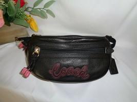 COACH F76748 SPORTY SIGNATURE VALE BELT BAG SHOULDER SLING FANNY PACK KH... - $118.31