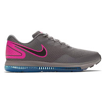 Men's Nike Zoom All Out Low 2 Shoes Gunsmoke Black Pink AJ0035 009 Msrp $140 - $51.34